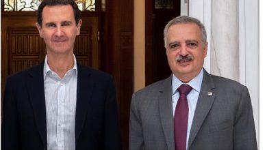 Photo of الأسد استقبل أرسلان في دمشق